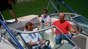 Antonio And Steve Check Out A Boat
