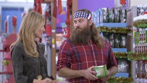 Willie and Korie Go Christmas Shopping