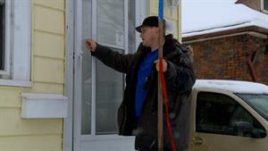 Bonus: Ryan Shovels Snow for Drug Money