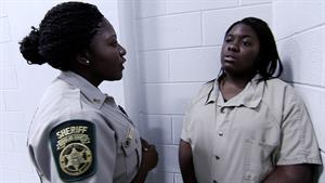 Female Teens Meet Inmates and See The Jail Environment