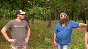 Big Bill and Willie Robertson Find a Bee Colony