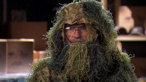 Social Moment: Si Wears a Ghillie Suit