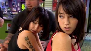 Sisters Get Competing Monster vs. Robot Tattoos