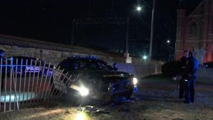 Crashed Cop Car