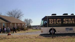 Social Moment: The Big Bus Reveal