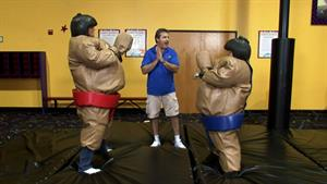 Victor And Sonny Get Their Sumo Suits Appraised