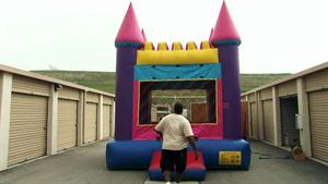 Social Moment: Ivy's Bouncy House