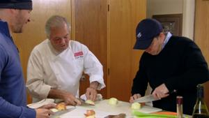 Social Moment: Chopping With a Surprise Chef