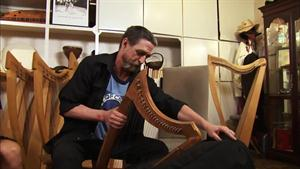 Social Moment: The Hip and Happenin' Harpist